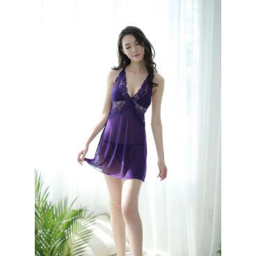 Plus Size Purple Chemise