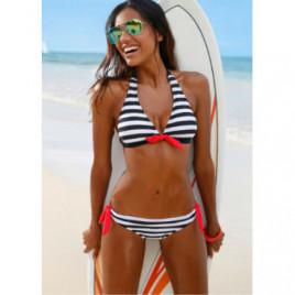 How To Love Stripes Bikini Set