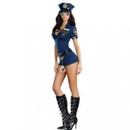 Miss Demeanor Police Costume