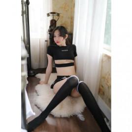 Sexy Korea Police Woman Costume