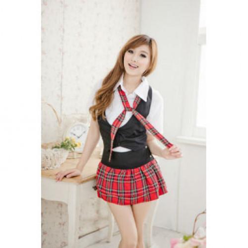Prep School Hottie School Girl Costume