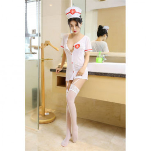 Caretaker Cutie Sexy Nurse Costume