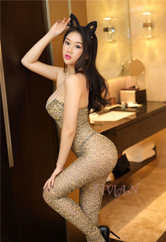 Sexy Leopard Bodystocking