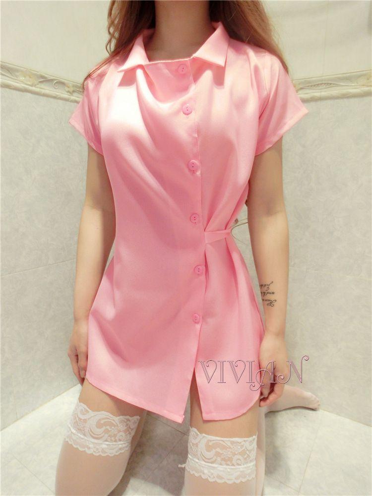 Pink Nurse Nightingale Costume