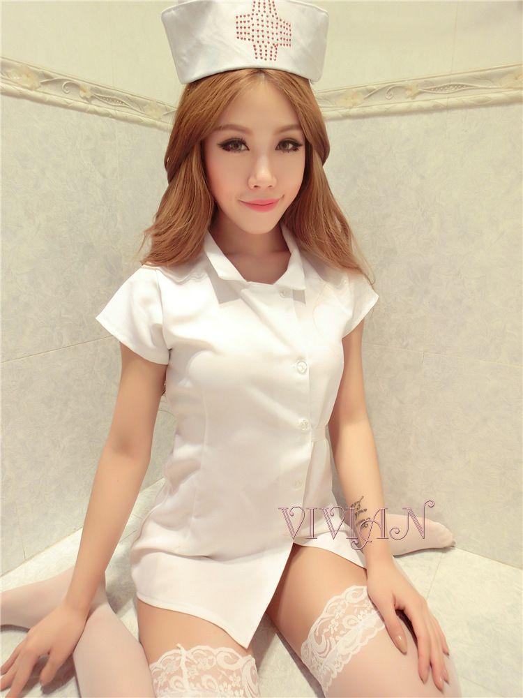 White Nurse Nightingale Costume