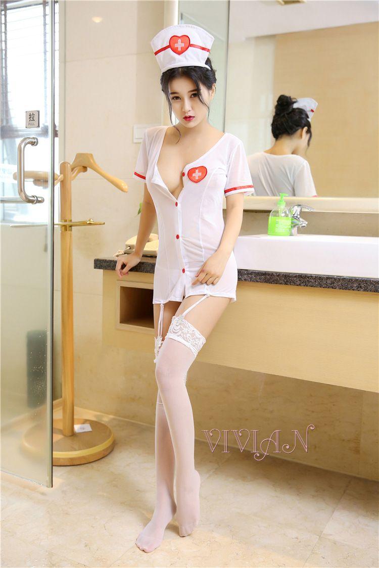 Caretaker Cutie Sexy Nurse Costume