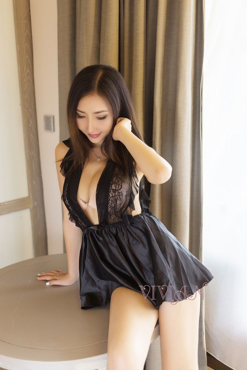 Black Provocative Chemise Set