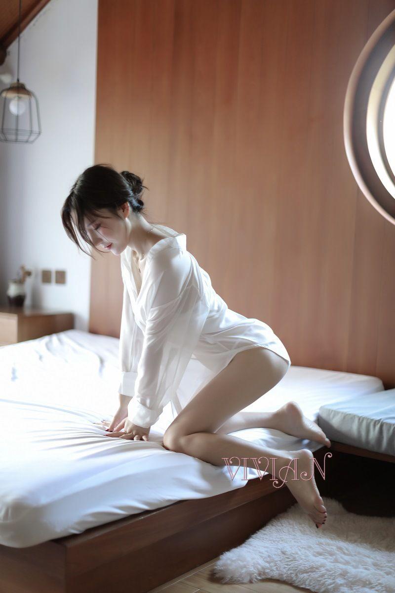 White Allure Sexy Secretary Costume