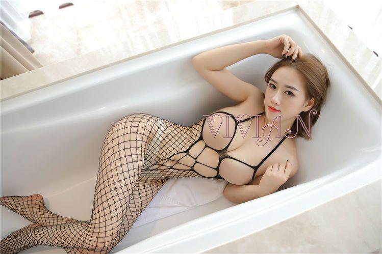 Cupless Fishnet Bodystocking